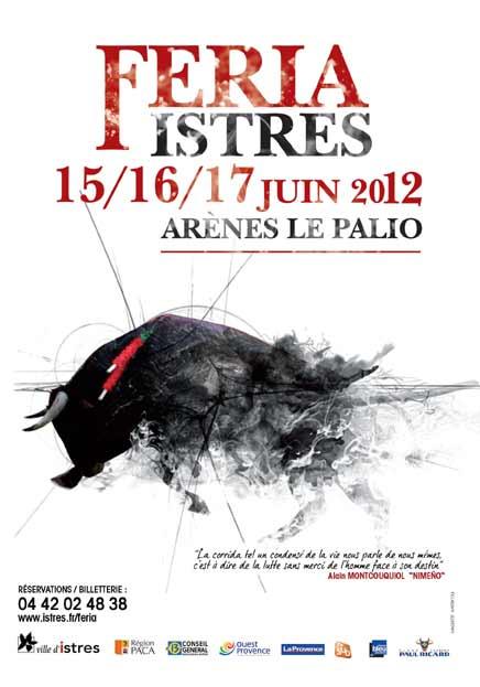 affiche Féria d'Istres 2012