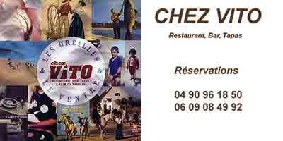 Restaurant, Bar, Tapas, Les Saintes Maries de la Mer - Chez Vito