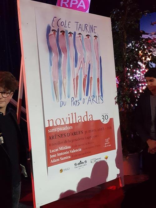 Affiche Novillada sans picador 2018