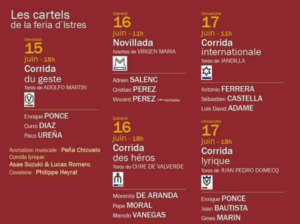 Cartels Feria Istres 2018